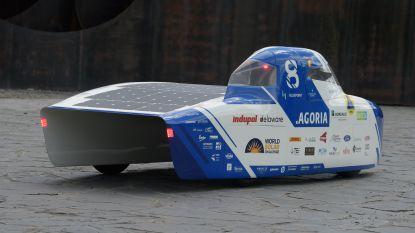 Belgische zonnewagen BluePoint uitgerust met Roeselaarse toptechnologie van BO-Solutions