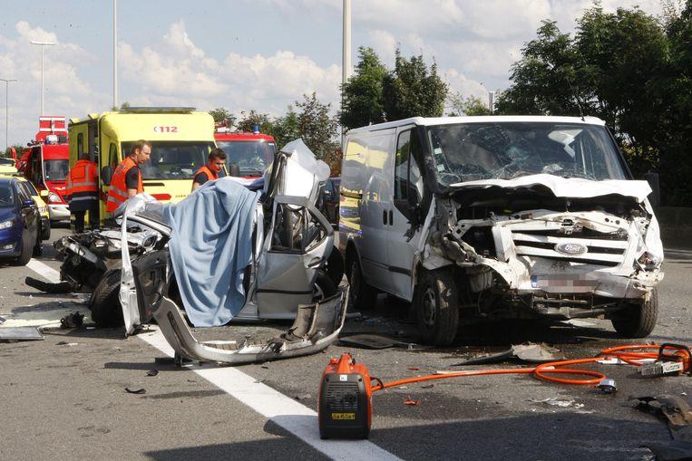 Rama Salim kwam om het leven bij een kopstaartaanrijding op de E40 in Boutersem.