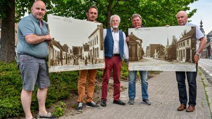 Duizend jaar Grembergen vereeuwigd op grote fotopanelen in dorp