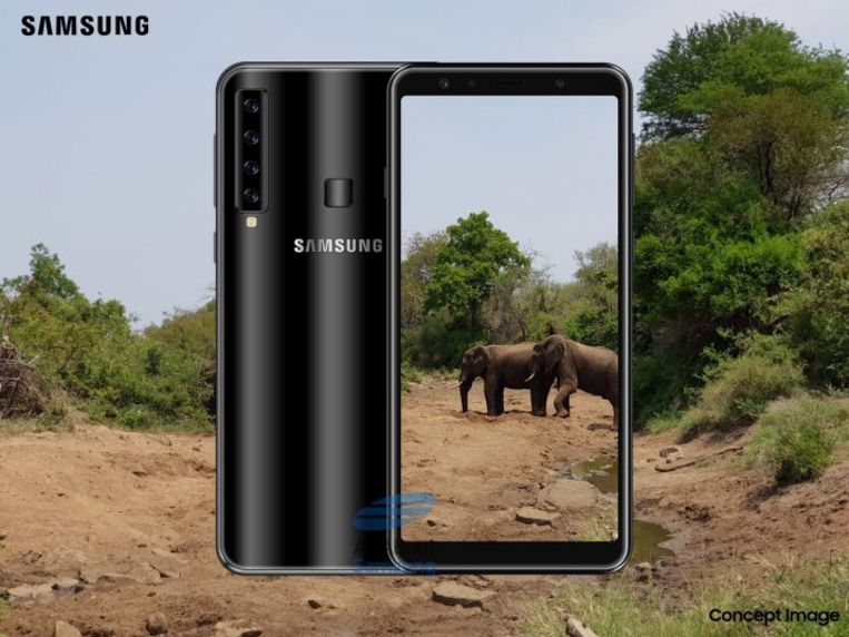 AllAboutSamsung maakte deze mock-up van hoe de telefoon er mogelijk uitziet.