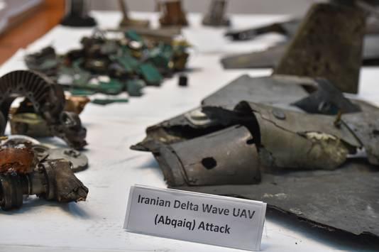 Fragmenten van de gebruikte raketten zouden aantonen dat Iran betrokken is bij de aanval.