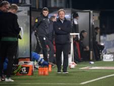 De Graafschap-trainer Snoei opgelucht na benauwde zege: 'Begint nu wel vervelend te worden'