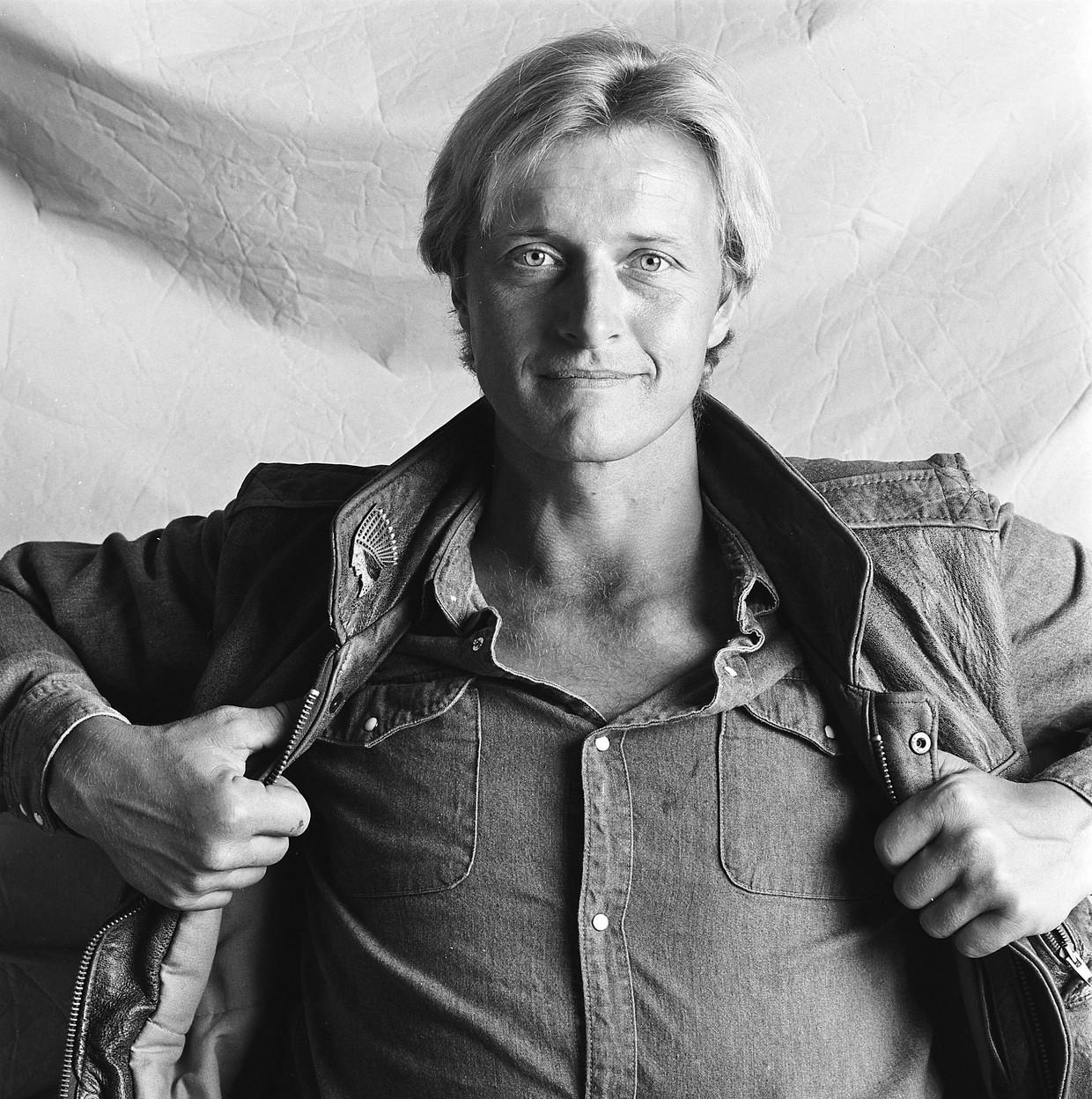 Rutger Hauer in 1982. Beeld Hollandse Hoogte / Maria Austria Instituut