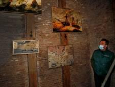 Vuurtoren de Stenen Baak uit 1630 nog even van binnen te bekijken