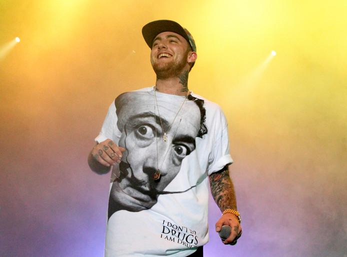 Rapper Mac Miller.