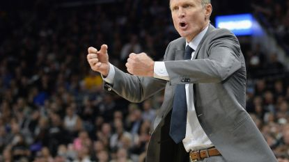 Succescoach blijft langer aan boord bij NBA-kampioen Golden State