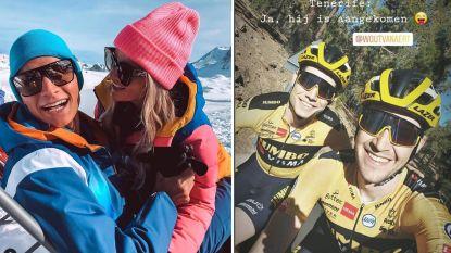 """Van der Poel én Van Aert op hoogtestage, maar elk op hun manier: """"Après-ski? Daar was Mathieu niet naar op zoek"""""""