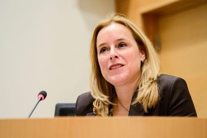 Eva De Bleeker, secrétaire d'État au Budget (Open VLD)