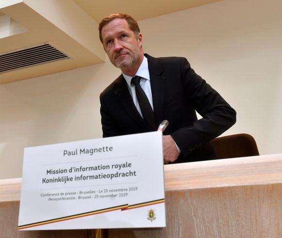 Koninklijk informateur Paul Magnette (PS) legde de partijen vorige week een nieuwe nota voor.
