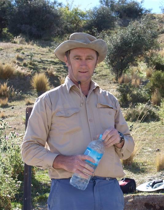 Onderzoeker Trevor Worthy.