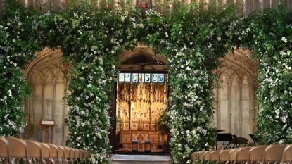 IN BEELD. Bloemen in St. George's Chapel brengen hulde aan prinses Diana