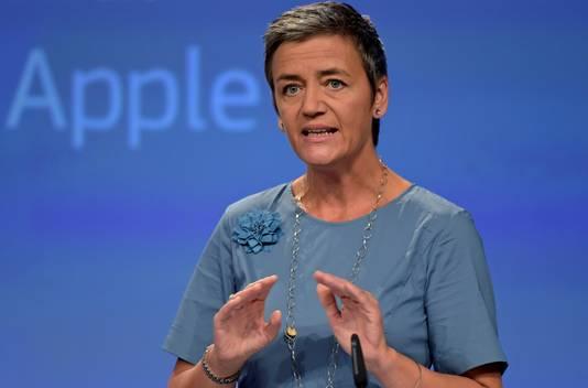 Europees Commissaris voor Mededinging Margrethe Vestager