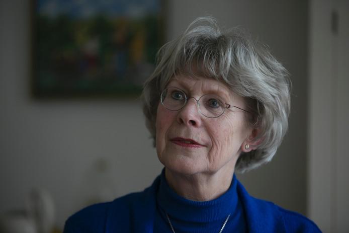 Anna Wiersma, stadsdichter van Zutphen. Foto Tom van Dijke