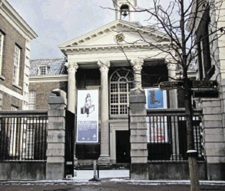 Het Stedelijk Museum Schiedam is gehuisvest in een neoclassicistisch gebouw. (Trouw) Beeld