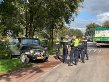 Automobilist gewond bij aanrijding in Haarle