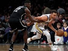 Curry helpt Golden State Warriors aan overwinning