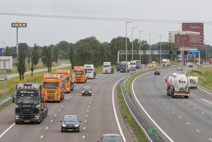 Een A28-tunnel in Zwolle, volgens de ChristenUnie een goed plan.