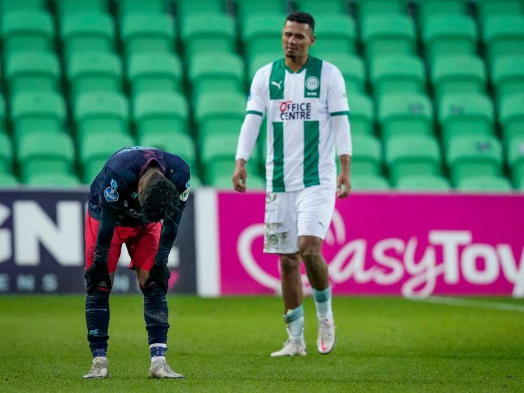 Nunnely over Groningen - Willem II: 'Juist in zware periodes moeten we goed bij elkaar blijven'
