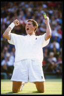 Krajicek na winst op Wimbledon.