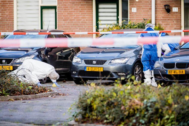 De 43-jarige Timon Badloe werd 28 november in de ochtend op de Apolloburg in Nieuwegein doodgeschoten. Beeld anp