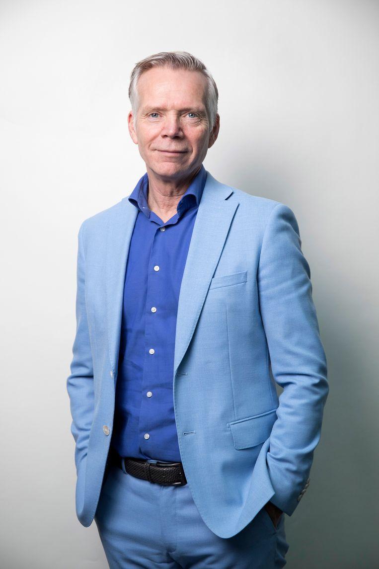 Trouw-hoofdredacteur Cees van der Laan Beeld Werry Crone