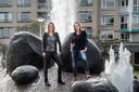 De vrouwen achter Go Clean: Wendy van Heumen (links) en Peggy Blaauw.