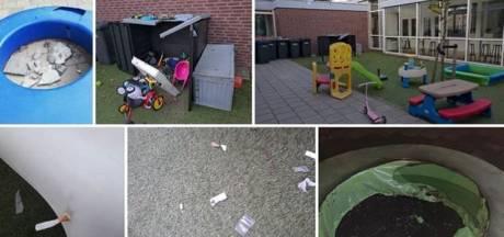 Vandalen teisteren kindcentrum: 'Ruiten vernield, speeltoestellen in brand gestoken'