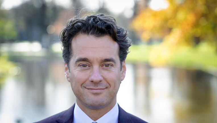 NOS-presentator Rik van de Westelaken kijkt terug op 2015. Beeld null