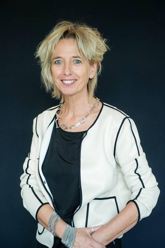 Wethouder Grete Visser (D66): onderwijs, zorg en welzijn.