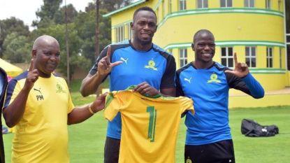 Bij welke club gaat Usain Bolt nu voetballen? Jamaicaan neemt iedereen bij de neus