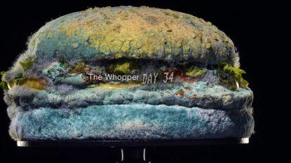 Burger King adverteert met... een beschimmelde burger
