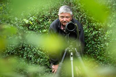 Vogelbeschermer Jan Benoist uit Breda: met de vogels gaat het niet goed in Nederland