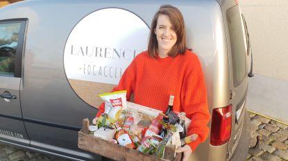 Laurence biedt Italiaanse lekkernijen in cadeaubox aan