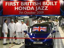 'Honda sluit Britse fabriek vanwege de Brexit'