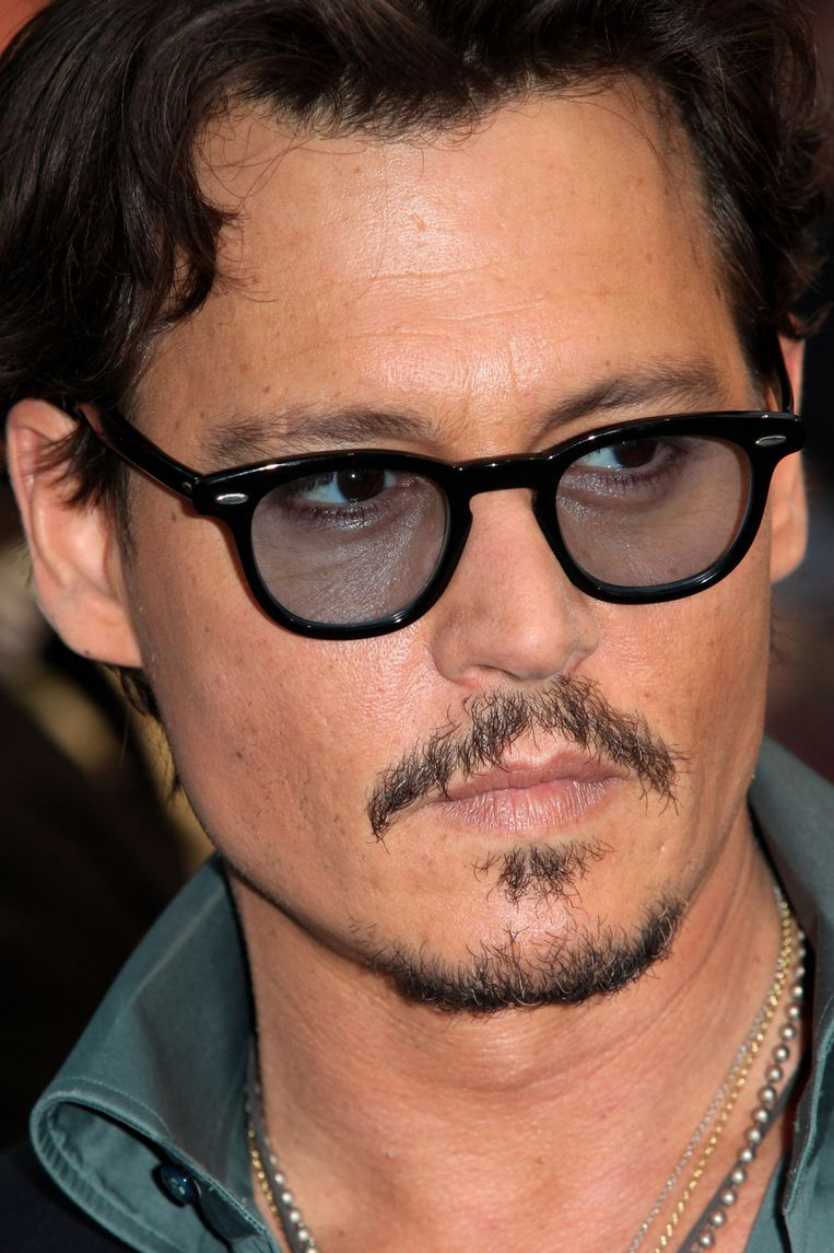 Johnny Depp bij de Britse première van Pirates of the Carribean 4. Beeld getty