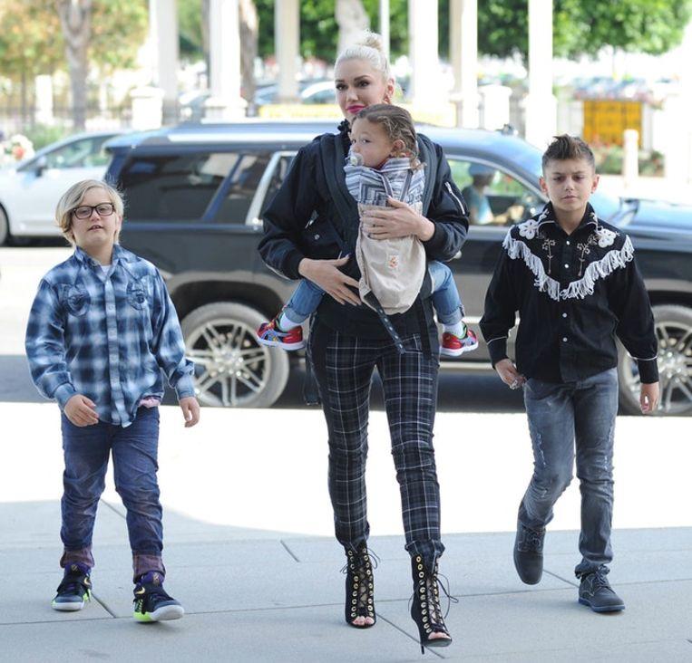 Gwen Stefani en haar kinderen