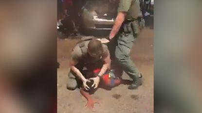Onderzoek naar agent die pepperspray gebruikt bij hardhandige arrestatie