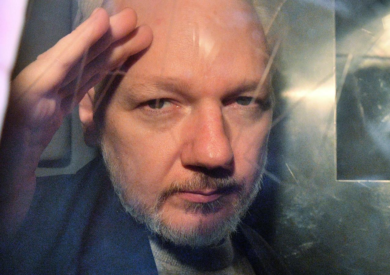 Julian Assange in 2019.