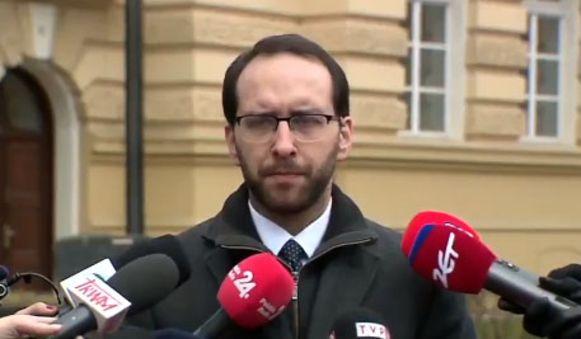 Stanislaw Zaryn, woordvoerder van de Poolse veiligheidsdienst.