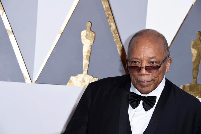 Muziekproducer Quincy Jones