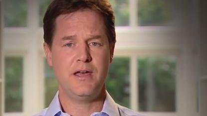 VIDEO: Brits oud-vicepremier Clegg naar Facebook
