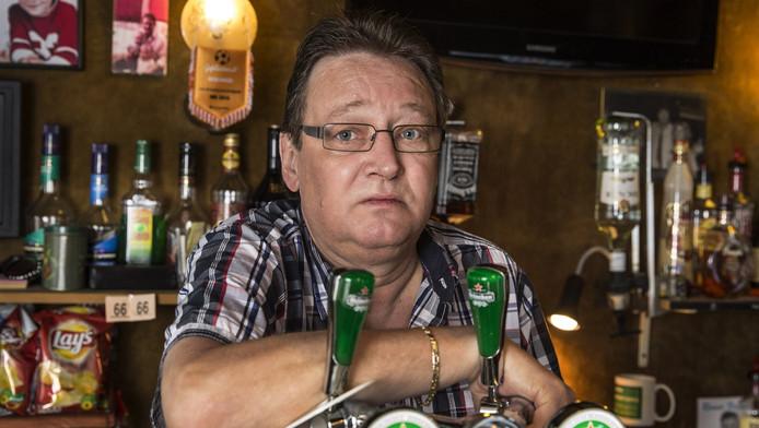 Fred Martijn, kroegbaas van biljartcafé De Pomerans in Leiden.