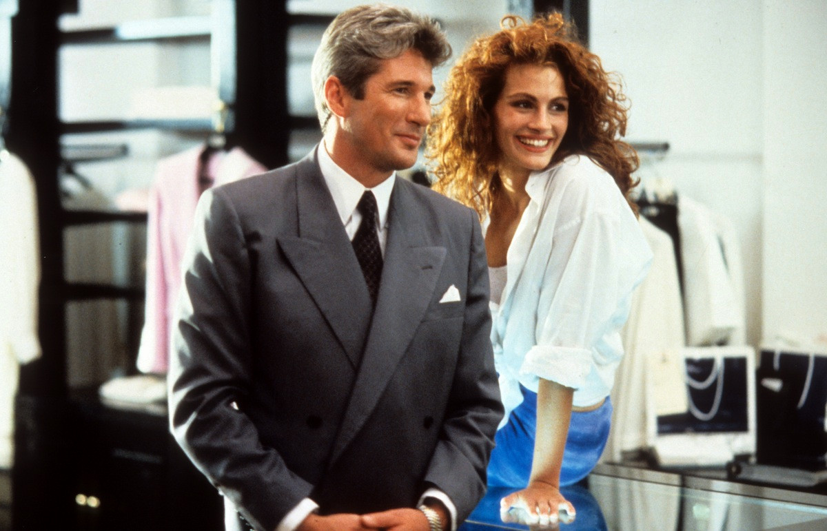 Richard Gere en Julia Roberts in 'Pretty Woman'
