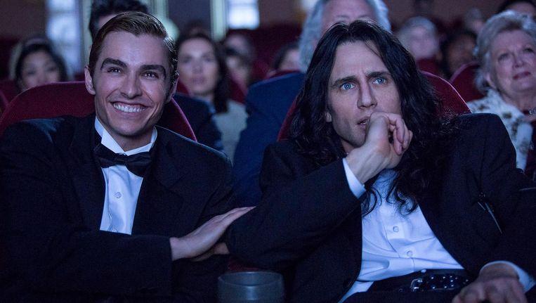Broers Dave en James Franco in The Disaster Artist Beeld