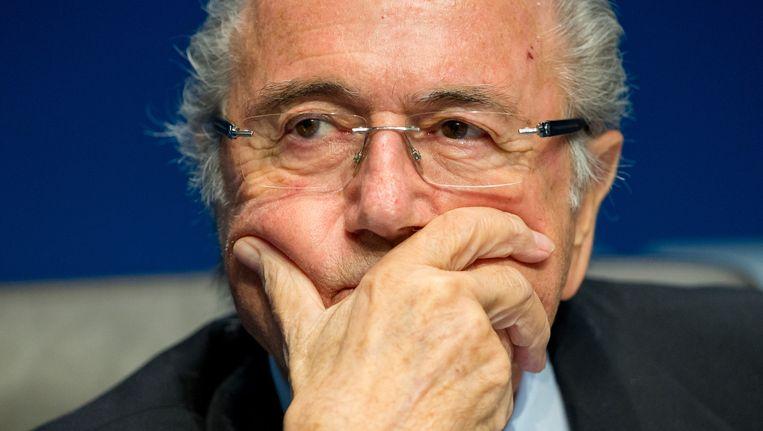 Sepp Blatter. Beeld getty