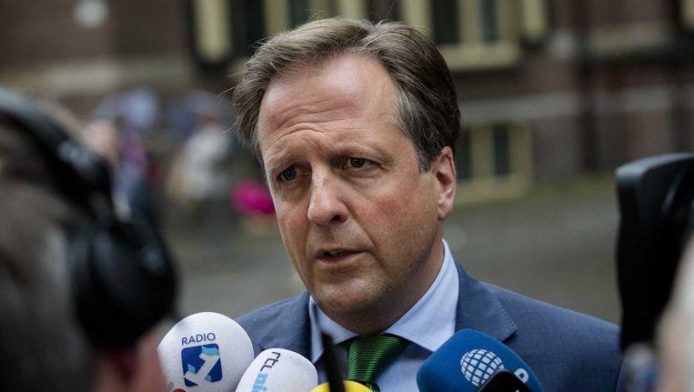 D66-leider Alexander Pechtold staat positief tegenover een nieuwe Afghanistanmissie. Beeld anp