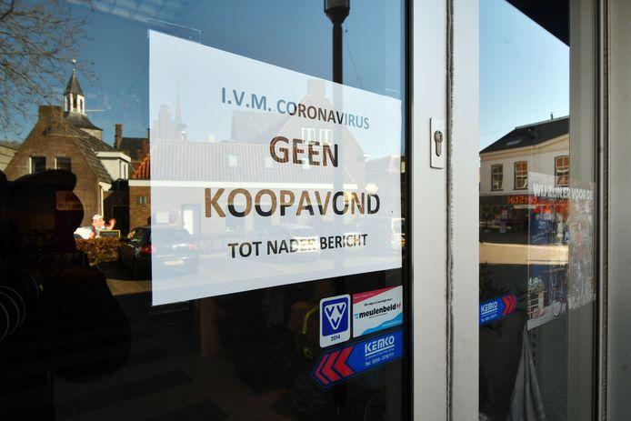 Veel winkeliers hebben fors te lijden onder de coronamaatregelen. De Langstraatgemeenten schieten ondernemers die in de problemen komen te hulp.