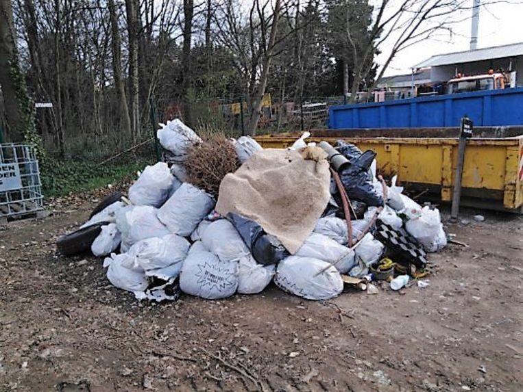 In totaal werd 1.250kg zwerfvuil verzameld.