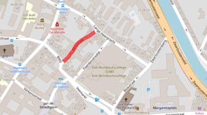 Stad test schoolstraat tussen Lange Heergracht en Veemarkt
