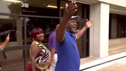 Eindelijk vrij: man zit 43 jaar onterecht vast